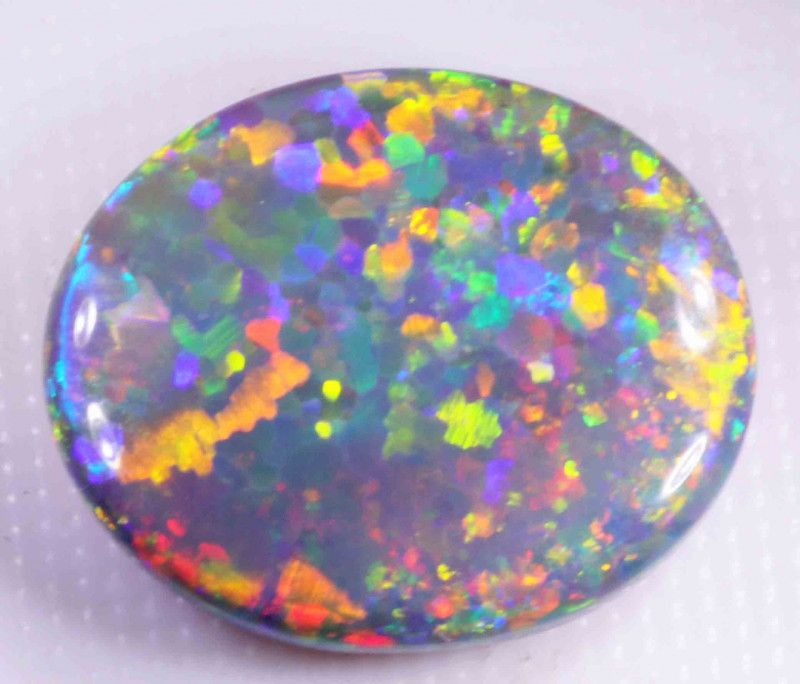 FREE SHIPPING 7.80 CTS BLACK OPAL FROM LR