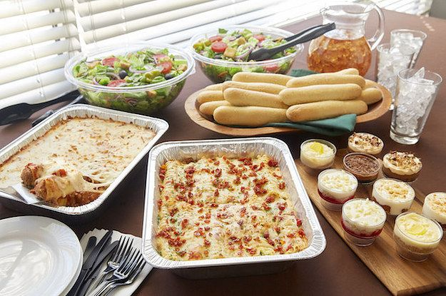 Olive Garden Will Now Deliver Giant Platters Of Pasta For Catering Catering Food Food Raw Food Recipes