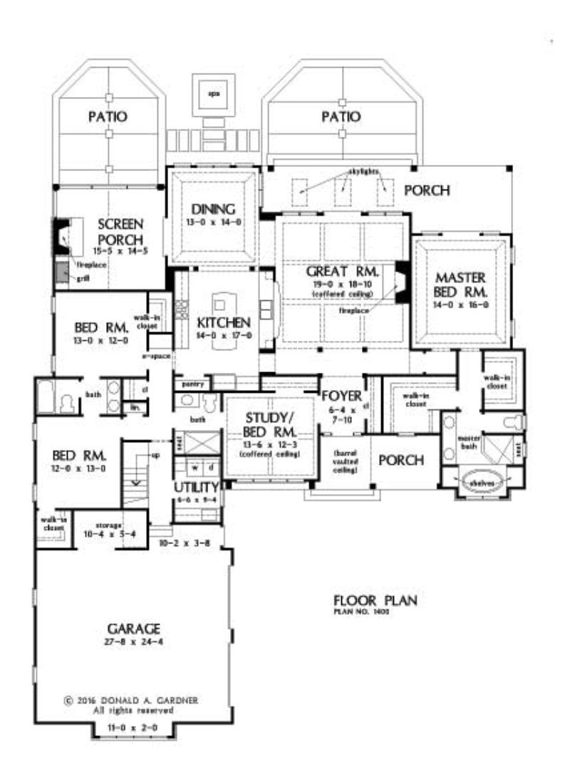 Home Plan 1400 Now Available Country Style House Plans Floor Plans Best House Plans