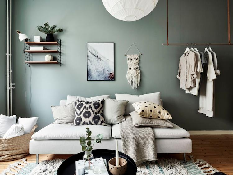 Woonkamer Klein Appartement : Shop the look klein appartement in groentinten in