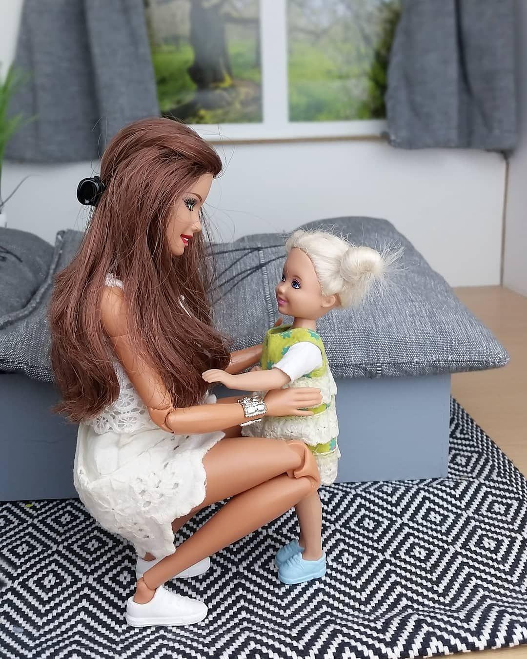 moi et ma fille (Alice) (mais pas ma pote, ma fille) #barbie