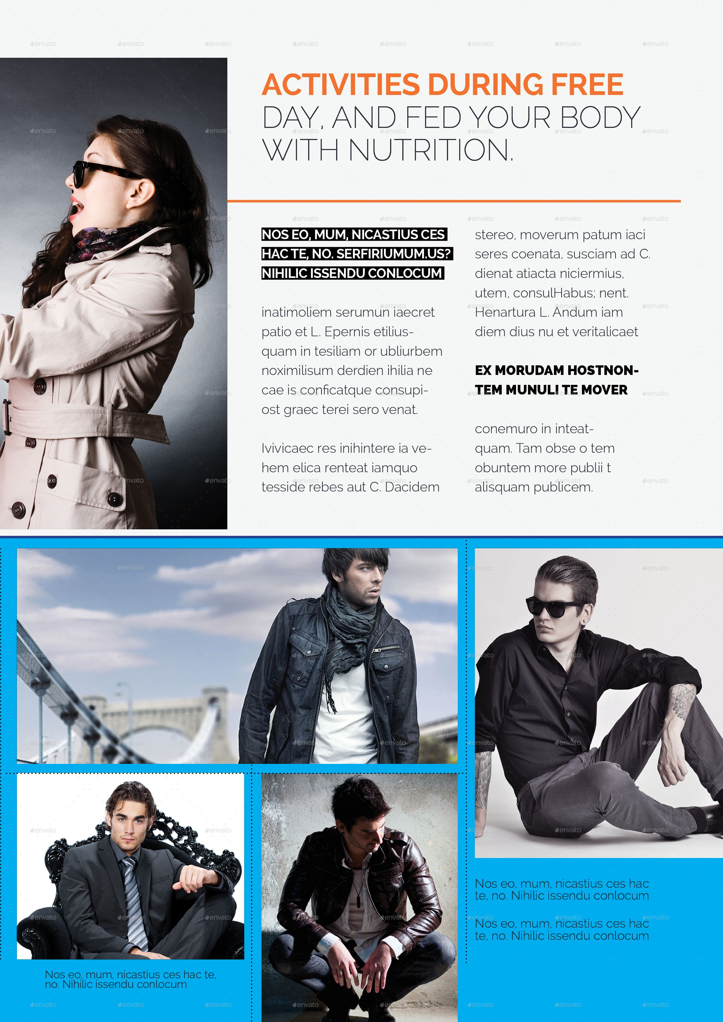 Magazine Template Magazine, Template Magazine template