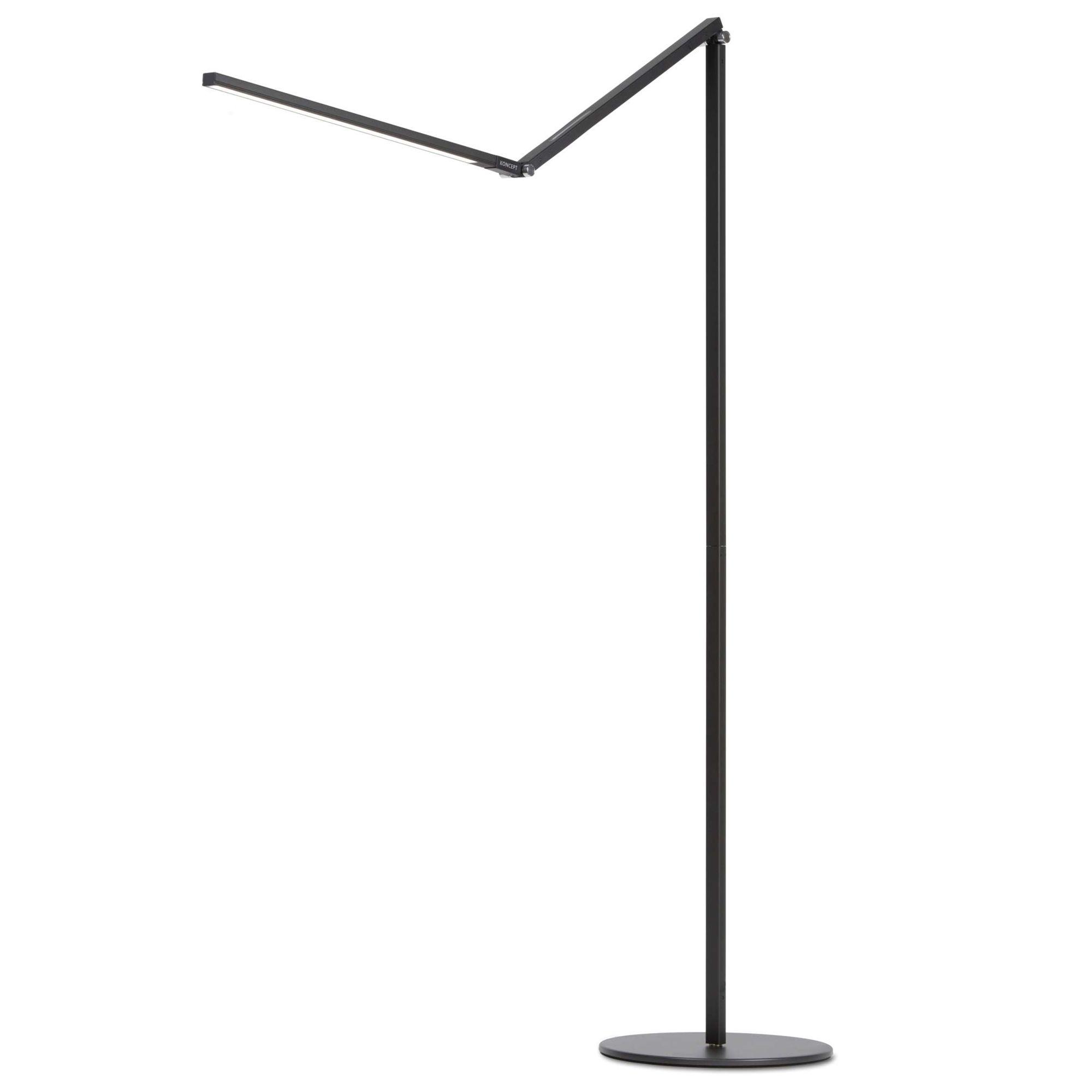Z Bar Led Floor Lamp By Koncept Lighting Ar5000 Wd Mbk Flr Led Floor Lamp Floor Lamp Lamp