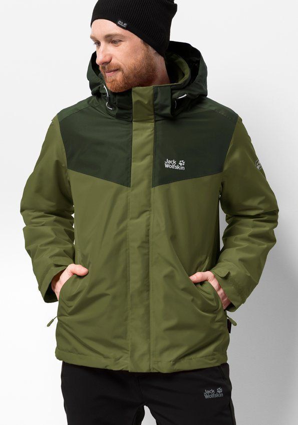 Jack Wolfskin 3 in 1 Funktionsjacke »ARLAND 3IN1 M
