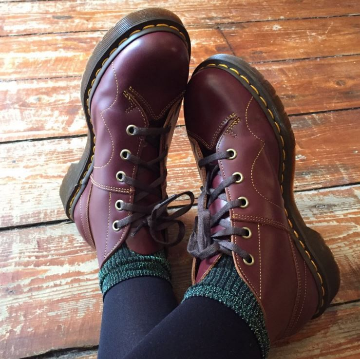 Dr martens church leather monkey boots | Martens style
