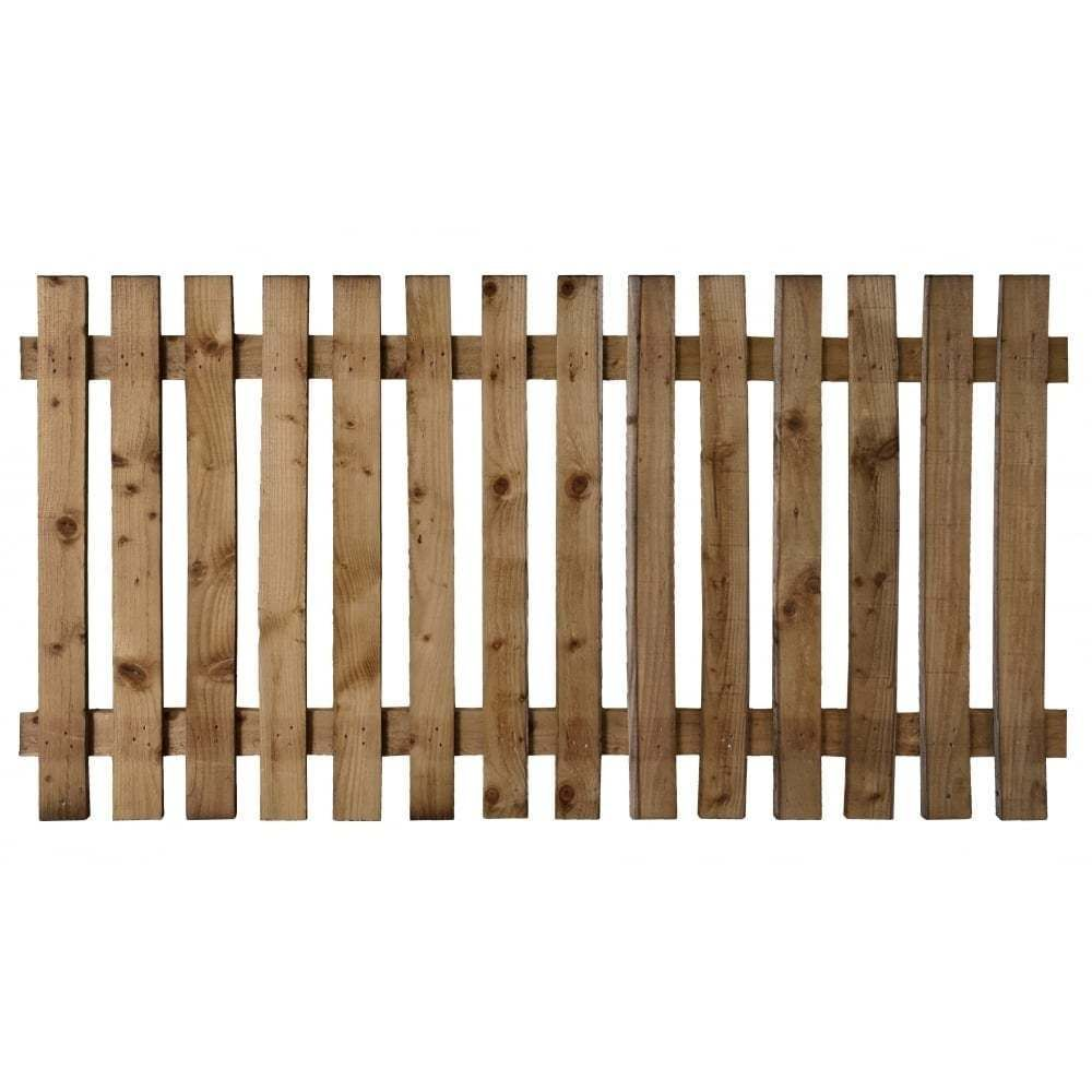 wood picket fence panels. Wooden Picket Fence Panel - Treated Timber Fencing 6x2 6x3 6x4   EBay Wood Panels