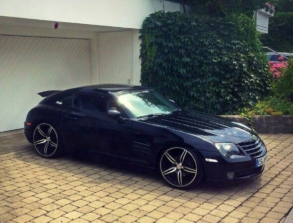 Chrysler Crossfire Beautiful Wide Body Rims With Images