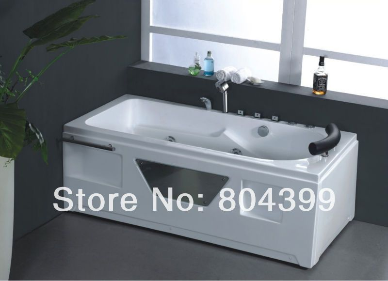 massage bathtub bath tub indoor corner hot tub bubble bath and ...