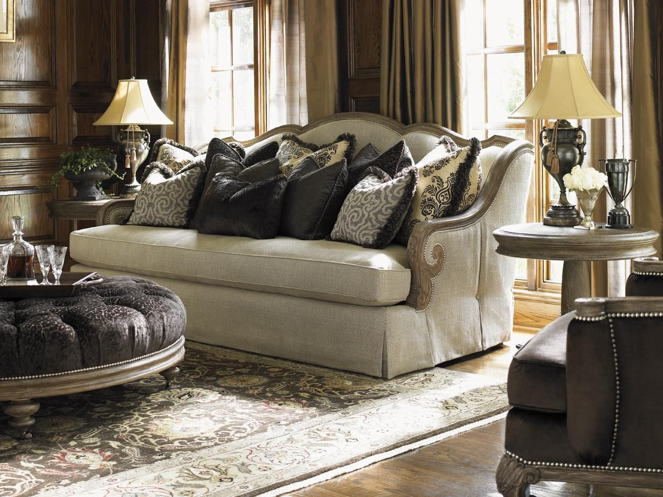 Luxury Luxe Traditional Style Sale Furniture