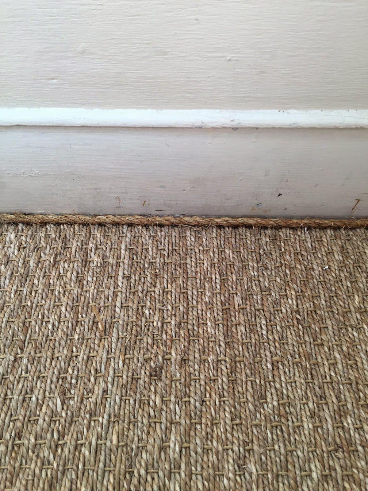 Casagiardino rope detail on the seagrass carpeting la dolfina