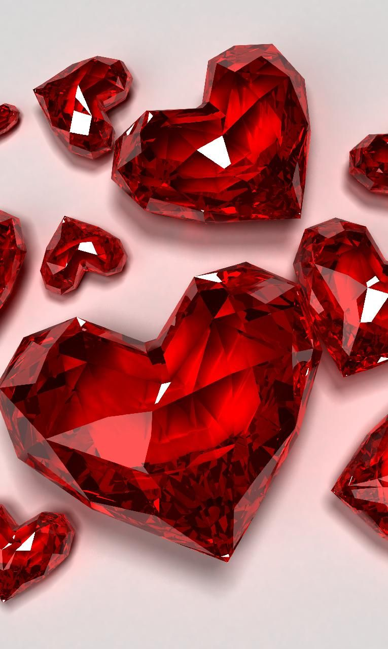 Red Hearts wallpaper by crysty155 - c624 - Free on ZEDGE™