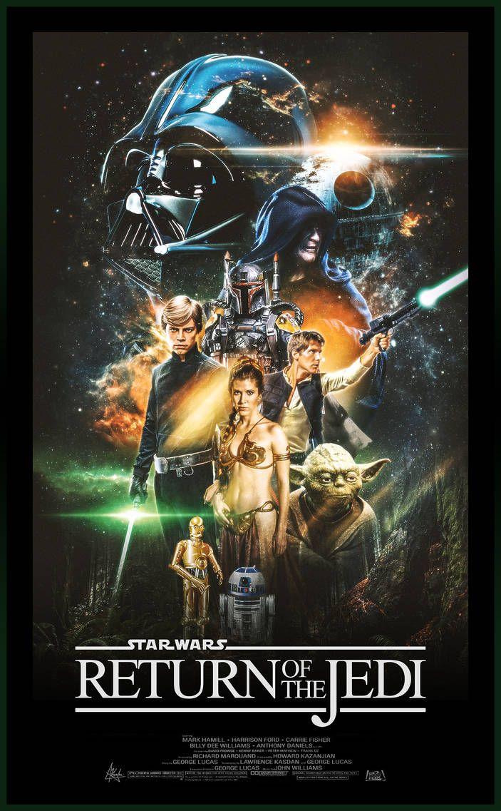 Star Wars: Episode VI - The Return Of The Jedi by Visutox on DeviantArt