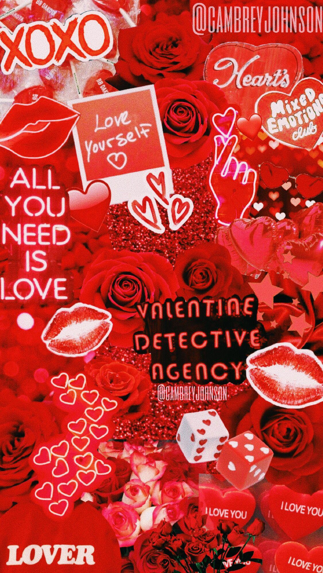 Ig Vsco Cambreyjohnson Valentines Wallpaper Aesthetic Iphone Wallpaper Cute Wallpapers