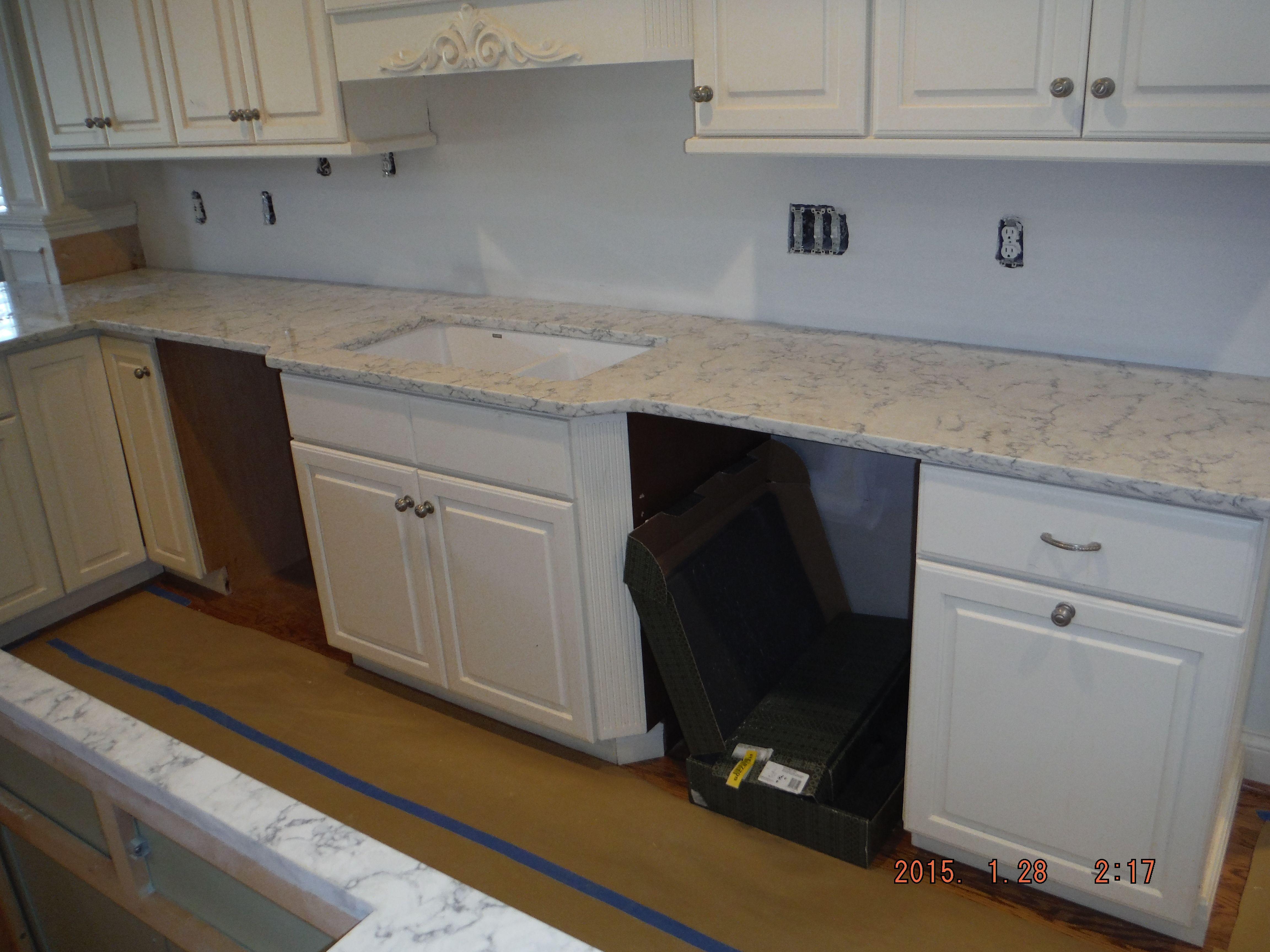 Rococo Lg Viatera Quartz Kitchen Kitchen Kitchen Remodel