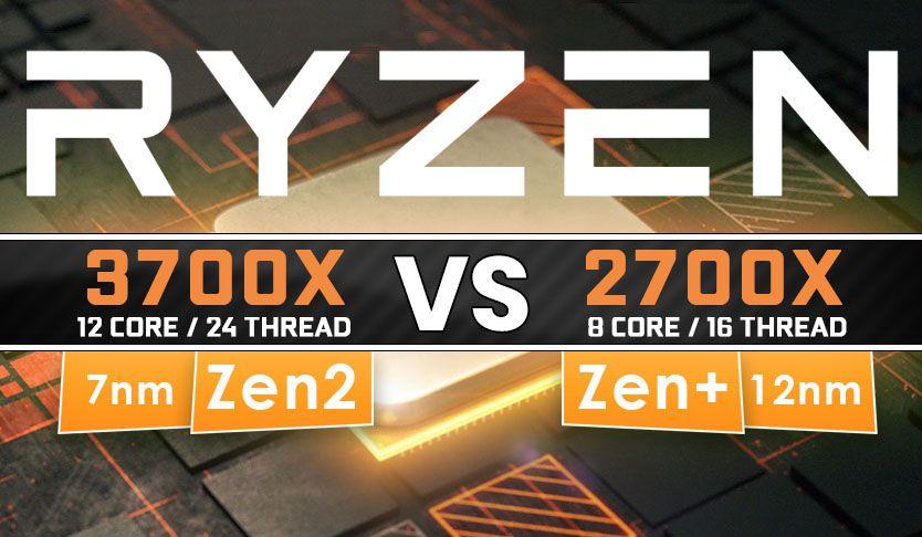 Amd Ryzen 3700x Vs 2700x Benchmark Review Best Cpu 2019 With
