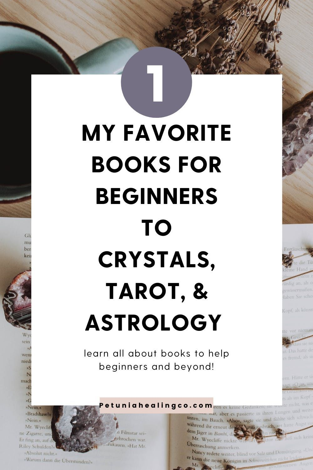 Favorite books about crystals tarot and astrology for
