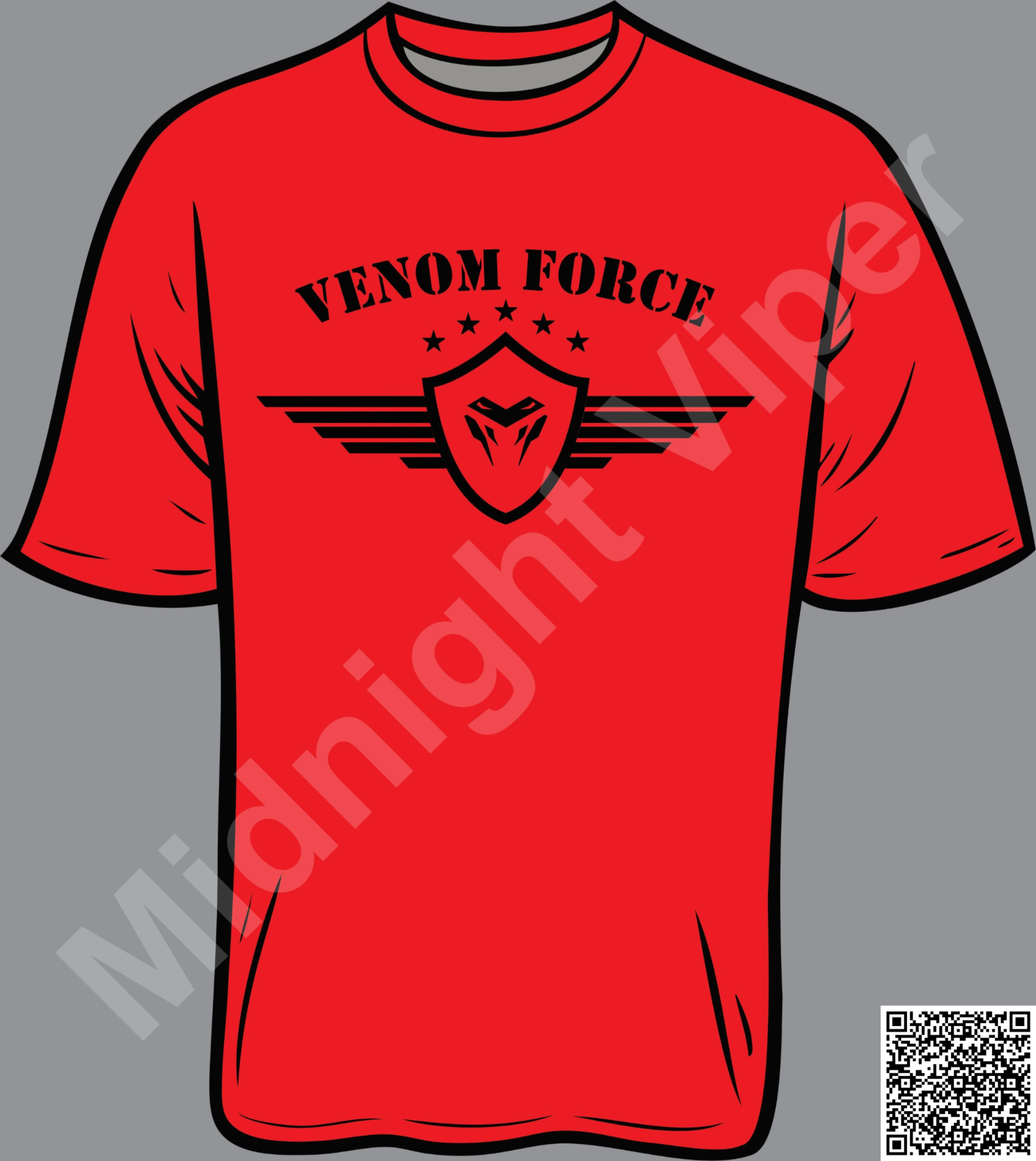 Venom Force T Shirt Can Be Any Color T Shirt Custom Clothes Shirt Designs