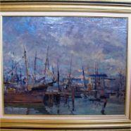 Looking for art? original Klement Olsansky (1909-1963) oil on canvas 29.5 x 23 #ottawa #estateauctionottawa