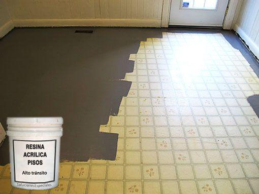 M s de 25 ideas incre bles sobre resina acrilica para piso - Pinturas para baldosas ...