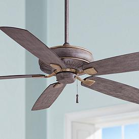60 Minka Aire Sunseeker Driftwood Ceiling Fan Ceiling Fan Ceiling Fans Without Lights Fan Lamp