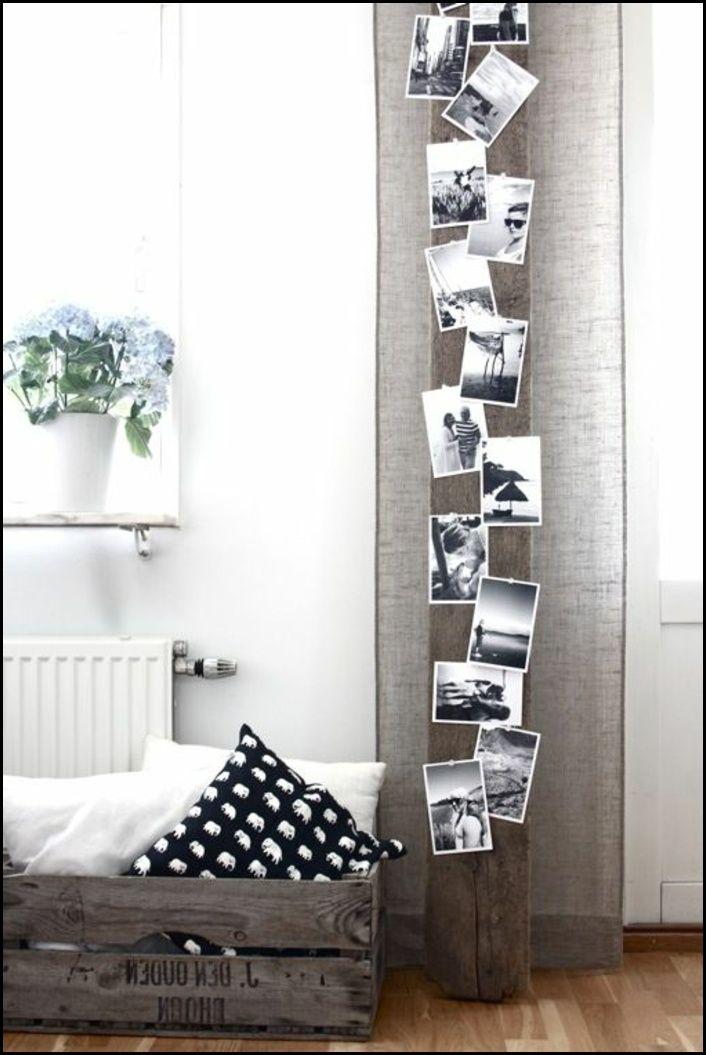 fotowand selber machen ideen f r eine kreative. Black Bedroom Furniture Sets. Home Design Ideas