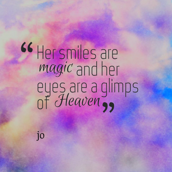 45 Elegant Quotes About Her Beauty - FunPulp | smiling ...