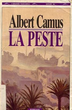 Albert Camus: First edition of La Peste (The Plague) signed by . Albert Camus Books, Read In French, Books To Read, My Books, Moral, Classic Books, Reading Lists, This Book, Loin