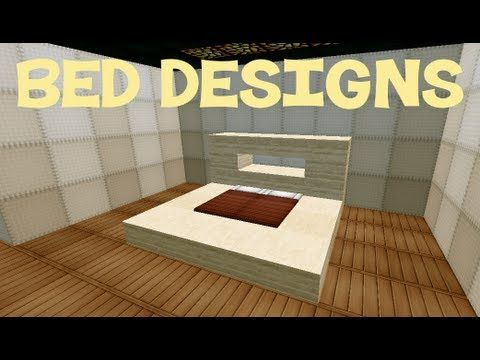 Minecraft Schlafzimmer ~ Minecraft bed designs devin s minecraft room ideas