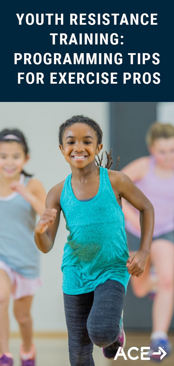 Youth Resistance Training: Programming Tips for Exercise Professionals