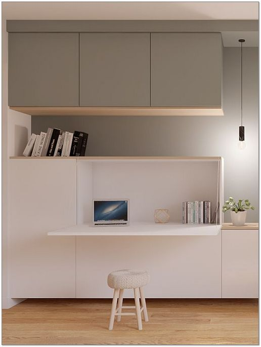 40 Trends This Year Small Home Office Furniture Design Ideas 41 Homemisuwur In 2020 Wohnung Design Buromobel Design Wohnen