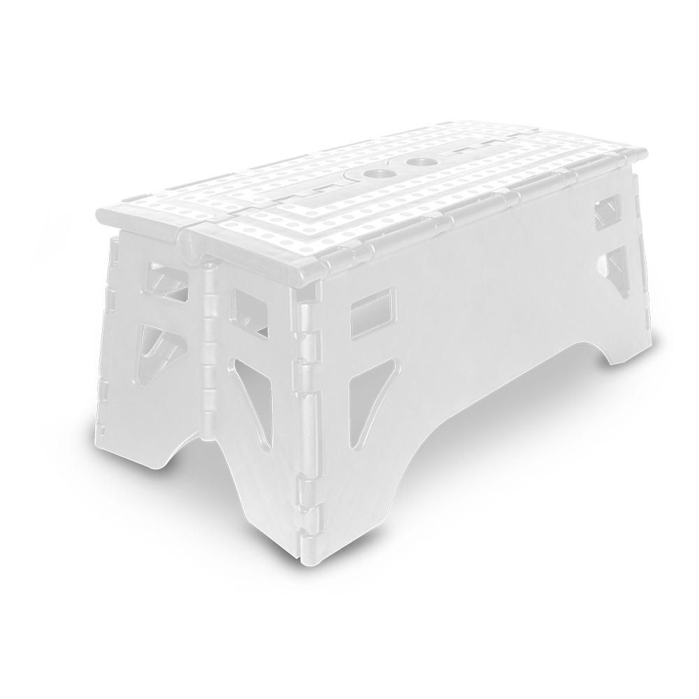 Tremendous Expace 13 In Plastic Folding Step Stool With 350 Lb Load Pdpeps Interior Chair Design Pdpepsorg