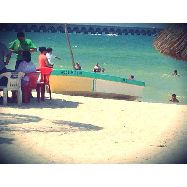 Puerto progreso Yucatán 2012