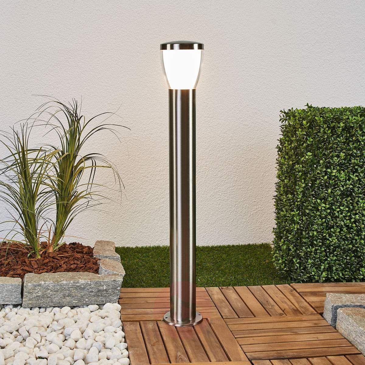 lampy do ogrodu slupek ogrodowy