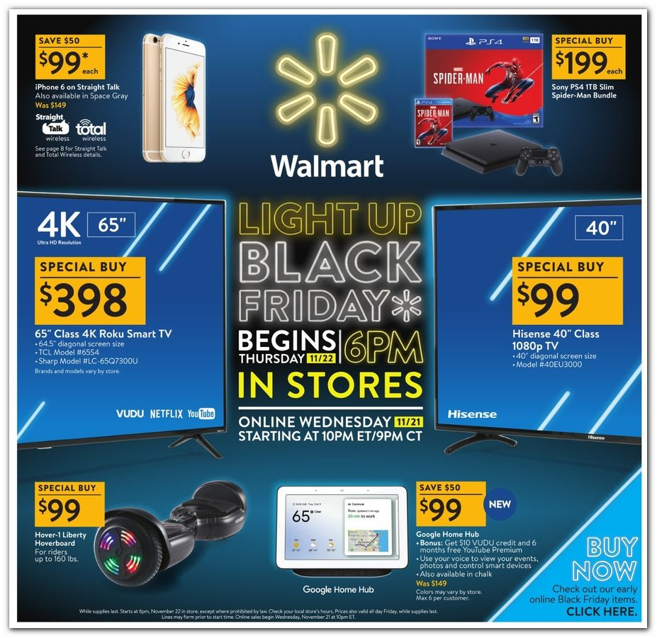 Walmart Black Friday 2020 Ad And Deals Walmart Black Friday Ad Black Friday Ads Black Friday Offers