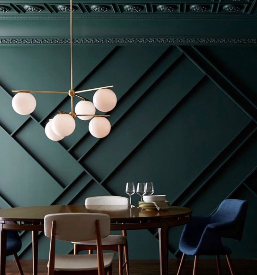 green wall paint color trend 2020 in 2020 green wall on best interior wall colors id=66506