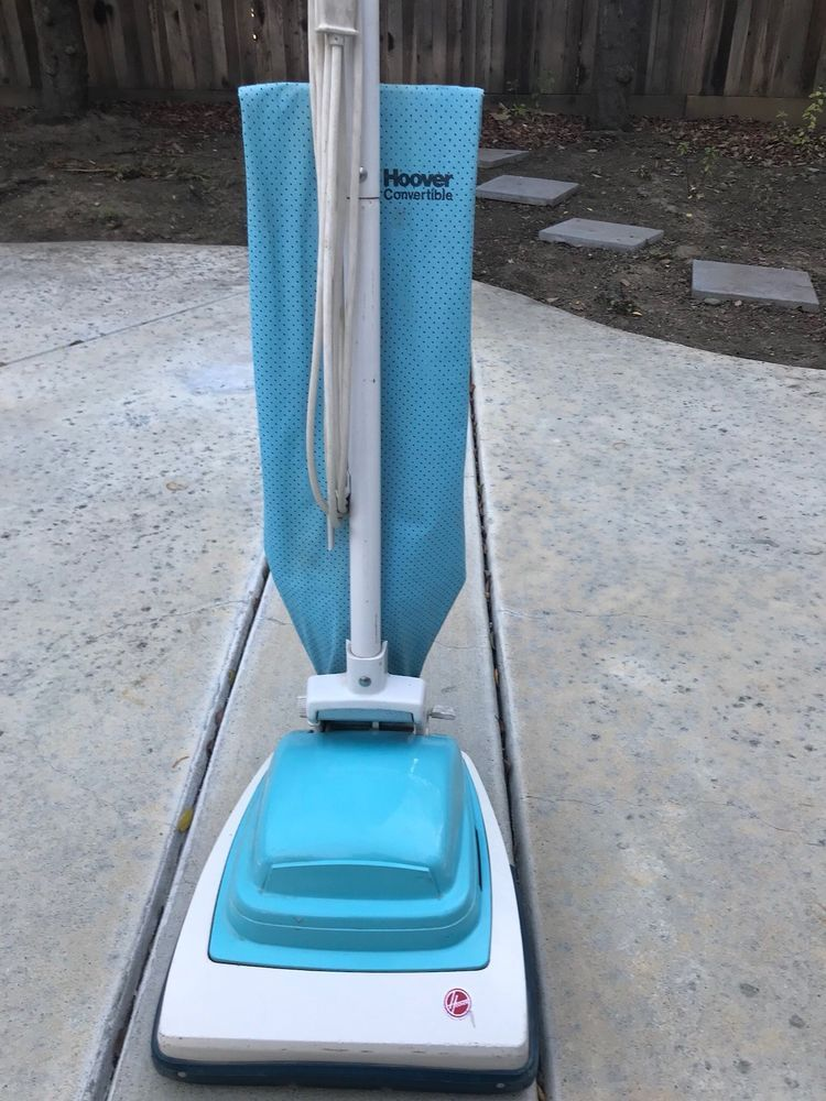 Vintage Upright Hoover Convertible Vacuum Cleaner Sweeper