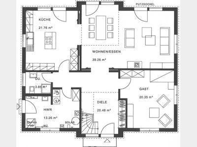 Grundriss EG #apartmentfloorplans