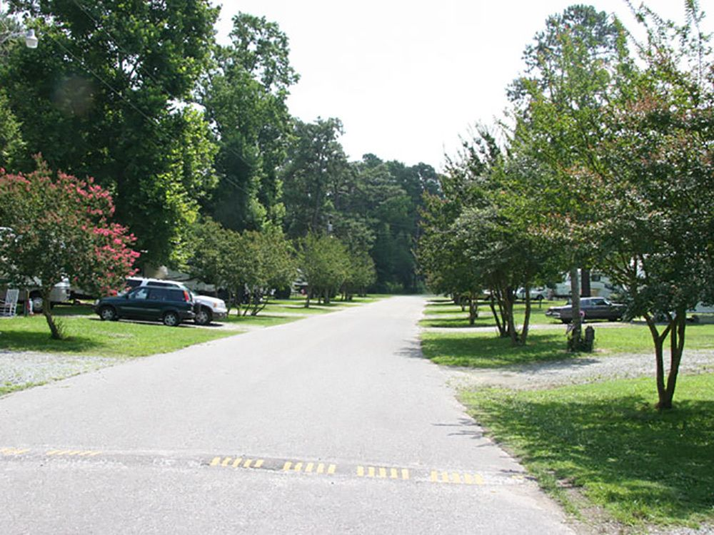 Raleigh Oaks Rv Resort Cottages Four Oaks Nc Rv Parks And Campgrounds In North Carolina Rv Parks And Campgrounds Campground Camping World
