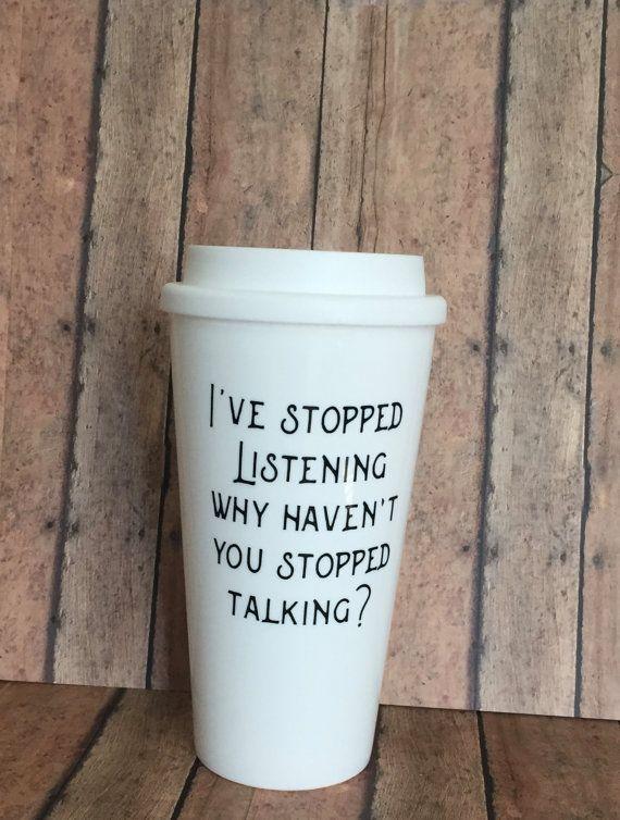 Funny Coffee Cup Coffee Travel Mug Coffee To Go Cup
