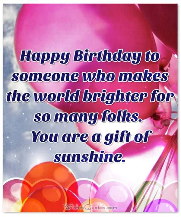 Birthday Wishes And Images For Someone Special In Your