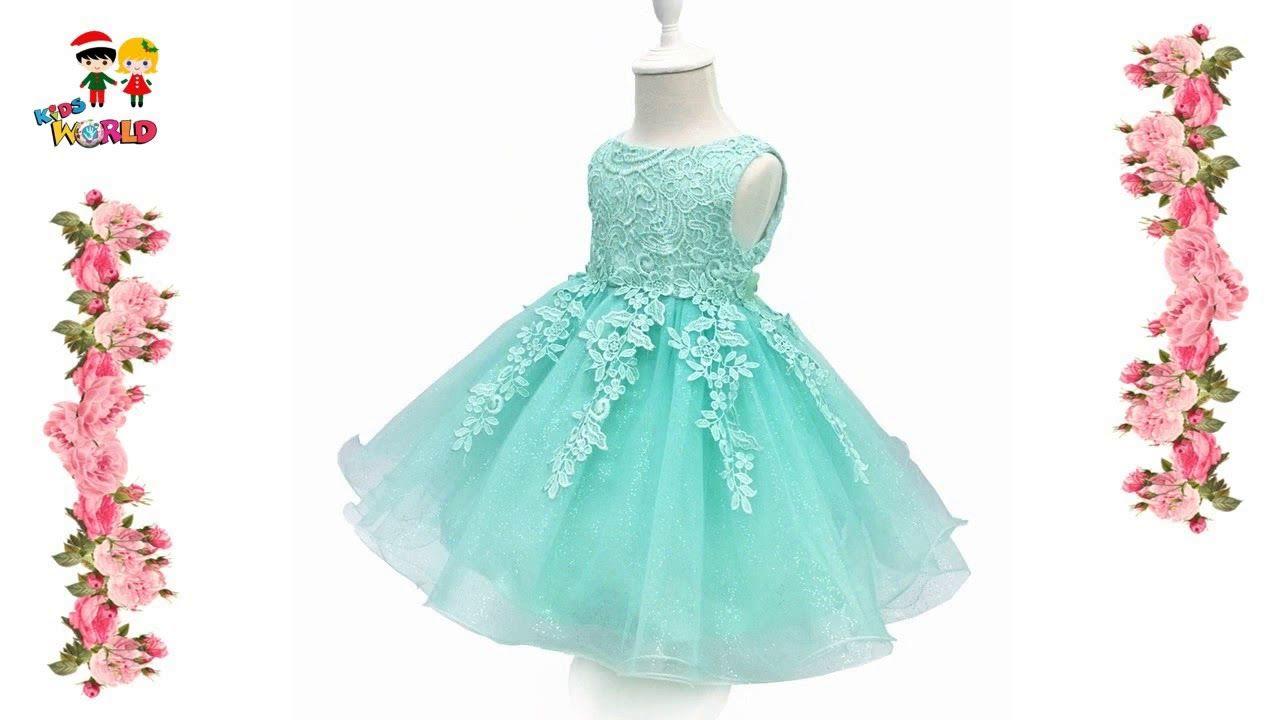 Top 10 Party Frocks Kids Wear Baby Girl Frock Design & Fancy Dresses ...