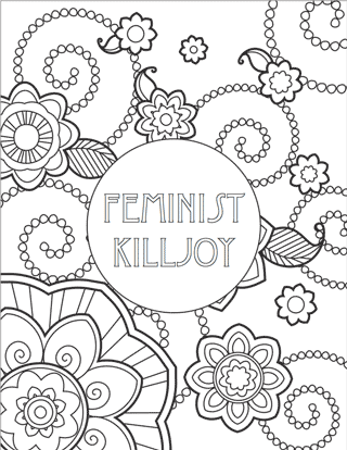 feminist coloring pages Free Printables: Feminist Colouring Pages | Feminist BadAssery  feminist coloring pages