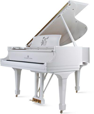 errikosartdesign:    (via Steinway announces John Lennon grand piano | The Beatles Bible)