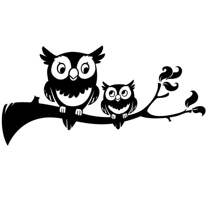 cute owl clipart black and white - Buscar con Google (с ...
