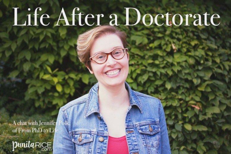 Jennifer Polk on Life After a Doctorate Doctor of