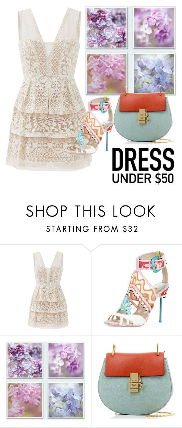 """Untitled #61"" by elza-345 ❤ liked on Polyvore featuring BCBGMAXAZRIA, Chloé and Dressunder50"