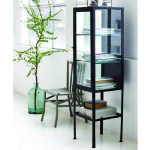 Ebony Glazed Display Cabinet