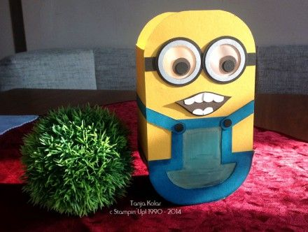minion laterne selber basteln home decoration with paper. Black Bedroom Furniture Sets. Home Design Ideas