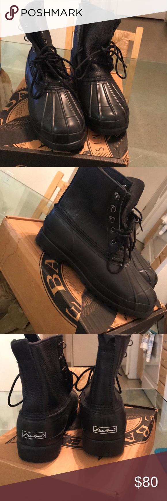 Eddie Bauer man hunt boots Excellent condition Shoes Boots