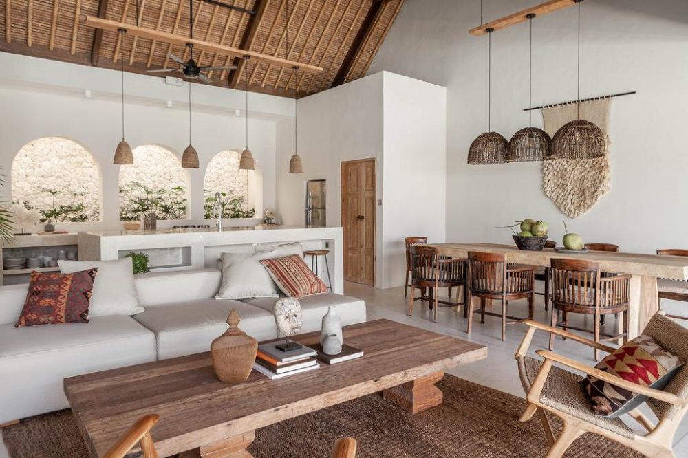 These Bali villas are more akin to a designer home than a traditional hotel